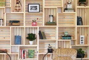 Библиотека bib86501 по индивидуальным размерам на заказ, материалы из лдсп мдф расцветка — бежевый в интернет магазине mebelblok.ru