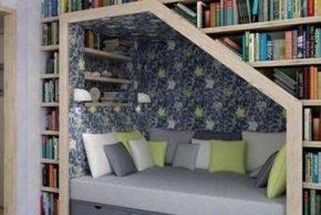 Библиотека bib54891 по индивидуальным размерам на заказ, материалы из лдсп мдф расцветка — бежевый в интернет магазине mebelblok.ru
