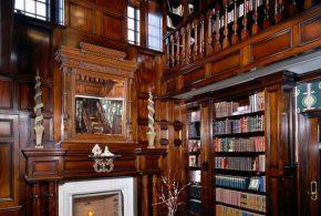Библиотека bib66799 по индивидуальным размерам на заказ, материалы из дерева лдсп мдф расцветка — коричневый в интернет магазине mebelblok.ru