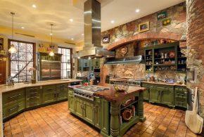 Островная кухня по индивидуальным размерам на заказ фасады из массива дерева лдсп мдф фасад пленки kuh83824