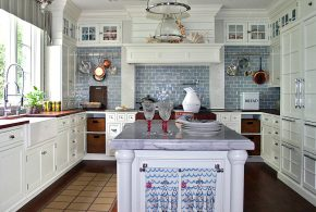 Островная кухня по индивидуальным размерам на заказ фасады из лдсп мдф эмали фасад пленки kuh69366