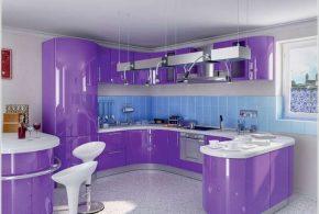 П-образная кухня по индивидуальным размерам на заказ фасады из мдф стекла эмали фасад пленки kuh38726