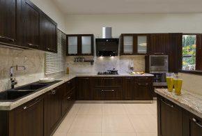 Угловая кухня по индивидуальным размерам на заказ фасады из лдсп мдф фасад пленки kuh37447