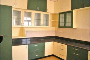 Угловая кухня по индивидуальным размерам на заказ фасады из мдф стекла эмали фасад пленки kuh29462