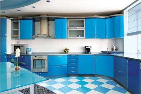 Угловая кухня по индивидуальным размерам на заказ фасады из мдф пластика стекла эмали фасад пленки shk47528