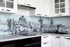 Угловая кухня по индивидуальным размерам на заказ фасады из мдф стекла эмали фасад пленки kuh80679