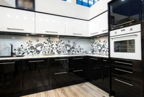 Угловая кухня по индивидуальным размерам на заказ фасады из мдф эмали фасад пленки kuh18472