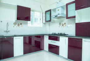 Угловая кухня по индивидуальным размерам на заказ фасады из мдф стекла эмали фасад пленки kuh76961