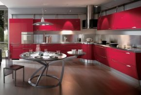 Угловая кухня по индивидуальным размерам на заказ фасады из лдсп мдф эмали фасад пленки kuh72762