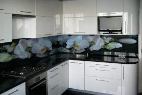 Угловая кухня по индивидуальным размерам на заказ фасады из мдф эмали фасад пленки kuh61249