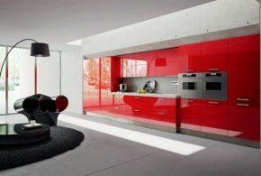 Прямая кухня по индивидуальным размерам на заказ фасады из мдф эмали фасад пленки kuh47160
