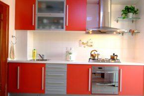 Прямая кухня по индивидуальным размерам на заказ фасады из мдф стекла эмали фасад пленки kuh42076