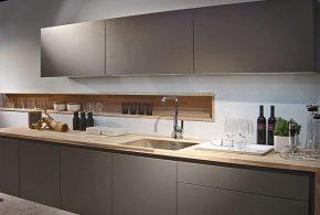 Прямая кухня по индивидуальным размерам на заказ фасады из мдф эмали фасад пленки kuh46702