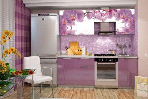 Прямая кухня по индивидуальным размерам на заказ фасады из мдф эмали фасад пленки kuh92679