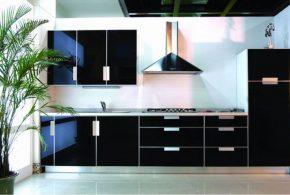 Прямая кухня по индивидуальным размерам на заказ фасады из мдф эмали фасад пленки kuh66917