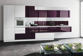 Прямая кухня по индивидуальным размерам на заказ фасады из мдф эмали фасад пленки kuh52974
