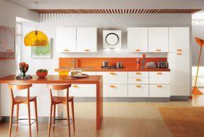 Прямая кухня по индивидуальным размерам на заказ фасады из мдф эмали фасад пленки kuh12495