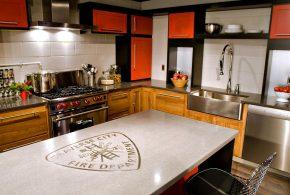 Островная кухня по индивидуальным размерам на заказ фасады из лдсп мдф фасад пленки kuh12974