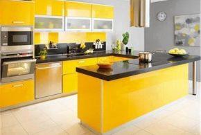 П-образная кухня по индивидуальным размерам на заказ фасады из лдсп мдф стекла эмали фасад пленки kuh51228