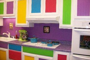 Прямая кухня по индивидуальным размерам на заказ фасады из лдсп мдф эмали фасад пленки kuh54223
