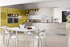 Угловая кухня по индивидуальным размерам на заказ фасады из лдсп мдф эмали фасад пленки kuh90397