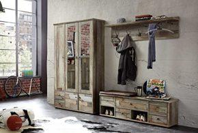 Прихожая pri60662 по индивидуальным размерам на заказ, материалы из массива дерева лдсп мдф расцветка — серый в интернет магазине mebelblok.ru