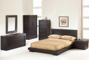 Спальня spa53689по индивидуальным размерам на заказ, материалы из лдсп мдф расцветка — коричневый в интернет магазине mebelblok.ru