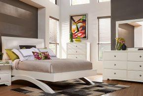 Спальня spa61679по индивидуальным размерам на заказ, материалы из лдсп мдф расцветка — белый в интернет магазине mebelblok.ru