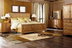 Спальня spa26721 по индивидуальным размерам на заказ, материалы из массива дерева лдсп мдф расцветка — коричневый в интернет магазине mebelblok.ru