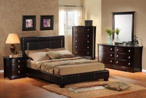 Спальня spa44362по индивидуальным размерам на заказ, материалы из лдсп мдф расцветка — коричневый в интернет магазине mebelblok.ru