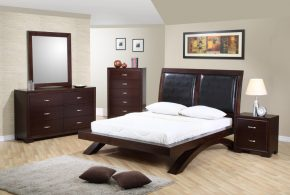 Спальня spa38155по индивидуальным размерам на заказ, материалы из лдсп мдф расцветка — коричневый в интернет магазине mebelblok.ru