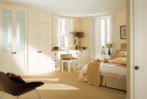 Спальня spa48098по индивидуальным размерам на заказ, материалы из лдсп мдф расцветка — белый в интернет магазине mebelblok.ru