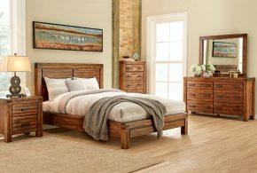 Спальня spa54719 по индивидуальным размерам на заказ, материалы из массива дерева лдсп мдф расцветка — коричневый в интернет магазине mebelblok.ru