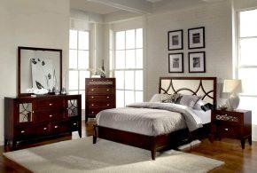 Спальня spa69807 по индивидуальным размерам на заказ, материалы из массива дерева лдсп мдф расцветка — коричневый в интернет магазине mebelblok.ru