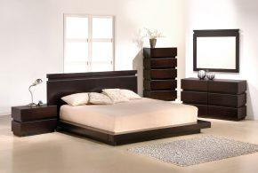 Спальня spa87401по индивидуальным размерам на заказ, материалы из лдсп мдф расцветка — коричневый в интернет магазине mebelblok.ru