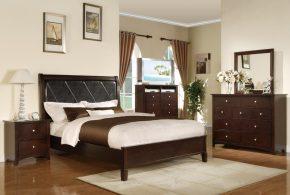 Спальня spa83547по индивидуальным размерам на заказ, материалы из лдсп мдф расцветка — коричневый в интернет магазине mebelblok.ru