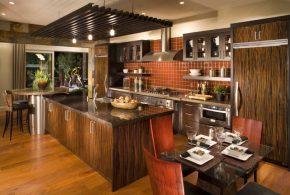 Островная кухня по индивидуальным размерам на заказ фасады из лдсп мдф фасад пленки kuh37955