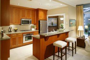 Островная кухня по индивидуальным размерам на заказ фасады из массива дерева лдсп мдф фасад пленки kuh93712