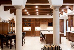 Островная кухня по индивидуальным размерам на заказ фасады из дерева лдсп мдф фасад пленки kuh60617