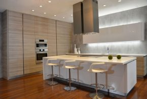 Островная кухня по индивидуальным размерам на заказ фасады из лдсп мдф эмали фасад пленки kuh67955