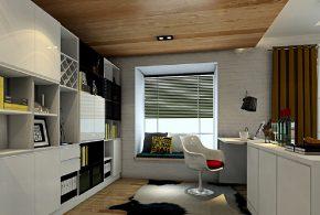 Кабинет kab32804 по индивидуальным размерам на заказ, материалы из лдсп мдф эмали расцветка — черно-белый белый черный в интернет магазине mebelblok.ru