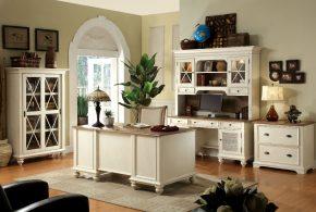 Кабинет kab74672 по индивидуальным размерам на заказ, материалы из дерева лдсп мдф расцветка — белый в интернет магазине mebelblok.ru