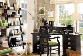 Кабинет kab71630 по индивидуальным размерам на заказ, материалы из дерева лдсп мдф расцветка — черный в интернет магазине mebelblok.ru