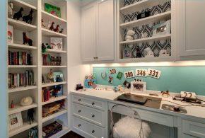 Кабинет kab75109 по индивидуальным размерам на заказ, материалы из лдсп мдф расцветка — белый в интернет магазине mebelblok.ru