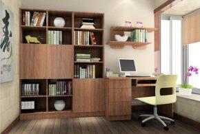 Кабинет kab61013 по индивидуальным размерам на заказ, материалы из лдсп мдф расцветка — коричневый в интернет магазине mebelblok.ru