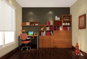 Кабинет kab78285 по индивидуальным размерам на заказ, материалы из лдсп мдф расцветка — коричневый в интернет магазине mebelblok.ru