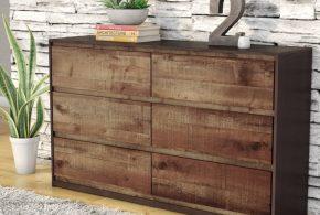 Купить комод по индивидуальным размерам на заказ, материалы — из дерева лдсп мдф kom55442