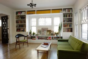 Библиотека bib65842 по индивидуальным размерам на заказ, материалы из лдсп мдф расцветка — белый в интернет магазине mebelblok.ru