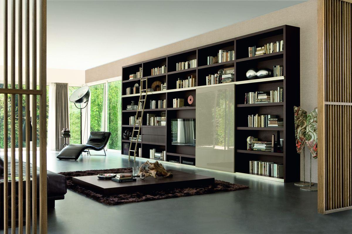 Фото дизайна книжных полок