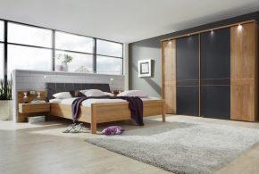 Спальня spa29030 по индивидуальным размерам на заказ, материалы из лдсп мдф расцветка — бежевый белый в интернет магазине mebelblok.ru